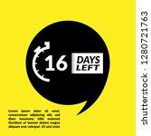 16 days left sign   emblem ...