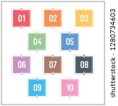 technology colorful square...   Shutterstock .eps vector #1280734603
