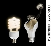 Old Vs. New Lightbulb...