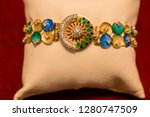 gold jewelry product photography | Shutterstock . vector #1280747509