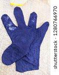 workshop of hand making a... | Shutterstock . vector #1280766970