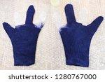 workshop of hand making a... | Shutterstock . vector #1280767000