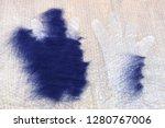 workshop of hand making a... | Shutterstock . vector #1280767006