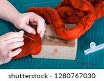 master class of repairing... | Shutterstock . vector #1280767030