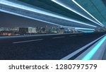 futuristic style highway road... | Shutterstock . vector #1280797579