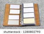 business card holder close up   Shutterstock . vector #1280802793