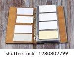 business card holder close up   Shutterstock . vector #1280802799