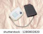 blood pressure measuring...   Shutterstock . vector #1280802820