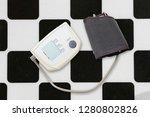 blood pressure measuring...   Shutterstock . vector #1280802826
