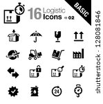 basic   logistic and shipping... | Shutterstock .eps vector #128081846