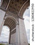 arc de triomphe in paris   Shutterstock . vector #1280822950