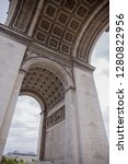 arc de triomphe in paris   Shutterstock . vector #1280822956