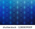 light blue vector texture with... | Shutterstock .eps vector #1280839009