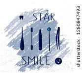 vector lettering is suitable...   Shutterstock .eps vector #1280847493