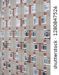 facade of george loveless house ...   Shutterstock . vector #1280847526