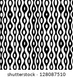 seamless abstract monochrome... | Shutterstock .eps vector #128087510