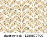 flower geometric pattern.... | Shutterstock . vector #1280877700
