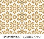 flower geometric pattern.... | Shutterstock . vector #1280877790