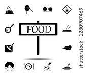 sign  restaurant  food icon....
