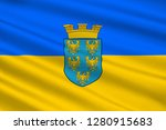flag of lower austria is the... | Shutterstock . vector #1280915683