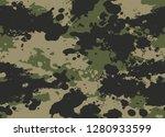 seamless splatter camouflage... | Shutterstock .eps vector #1280933599