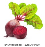 Fresh Beetroot With Leaves...