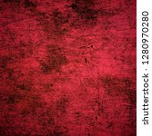 texture with scratches and... | Shutterstock . vector #1280970280