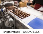sweets production and industry... | Shutterstock . vector #1280971666
