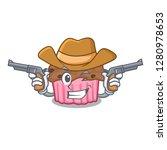 Cowboy Chocolate Muffins On...