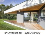 an exceptional family house... | Shutterstock . vector #128098409