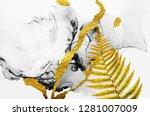 abstract clouds  art. luxurious ... | Shutterstock . vector #1281007009