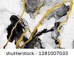abstract clouds  art. luxurious ... | Shutterstock . vector #1281007033