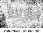 grunge is black and white.... | Shutterstock . vector #1281028786