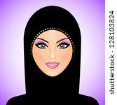 vector illustration of arab... | Shutterstock .eps vector #128103824