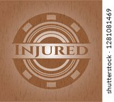 injured wooden signboards | Shutterstock .eps vector #1281081469