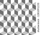 colored cube pattern. endless...   Shutterstock .eps vector #1281091153