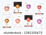 abstract vector business... | Shutterstock .eps vector #1281105673