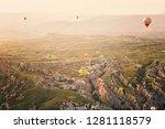 turkey  cappadocia   may 18 ... | Shutterstock . vector #1281118579