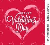 seamless vector pattern from... | Shutterstock .eps vector #1281120493