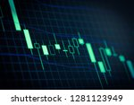 stock market or forex trading... | Shutterstock . vector #1281123949