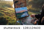 The Artist Paints A Picture...