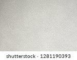gray canvas texture  delicate...   Shutterstock . vector #1281190393