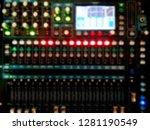 blurry of power mixer... | Shutterstock . vector #1281190549