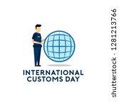 international customs day vector   Shutterstock .eps vector #1281213766