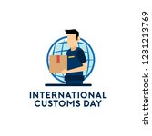 international customs day vector   Shutterstock .eps vector #1281213769