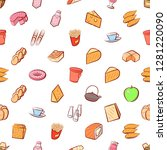 various images set. background... | Shutterstock .eps vector #1281220090