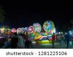 sakon nakhon thailand.december... | Shutterstock . vector #1281225106