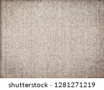 old rough canvas as a vintage...   Shutterstock . vector #1281271219