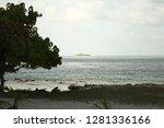 desert island in maldives ... | Shutterstock . vector #1281336166