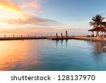 Idyllic Sunset In Thailand
